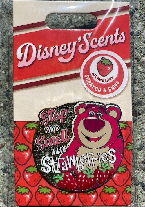 Lotso Disney Scents Pin