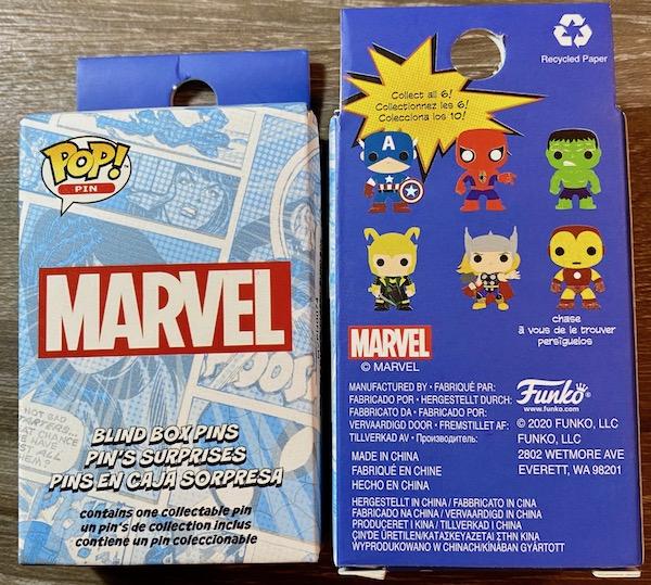 Marvel Pop! Avengers Blind Box Loungefly Pins