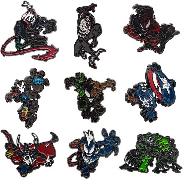 Marvel Spider-Man Maximum Venom Amazon Pin Set