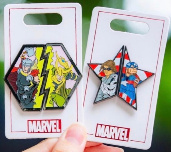 Marvel Two Pin Sets - Shanghai Disneyland