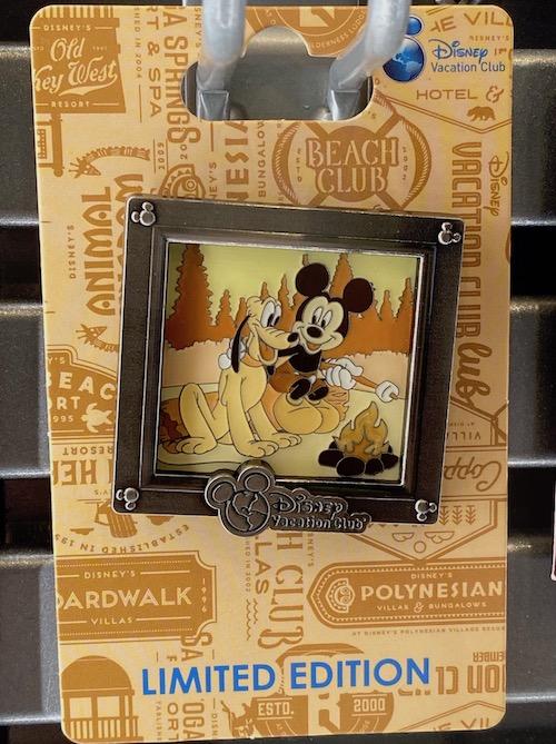 Mickey & Pluto Disney Vacation Club 2020 Pin