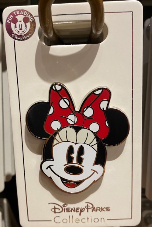 Minnie Mouse Face 2020 Disney Pin