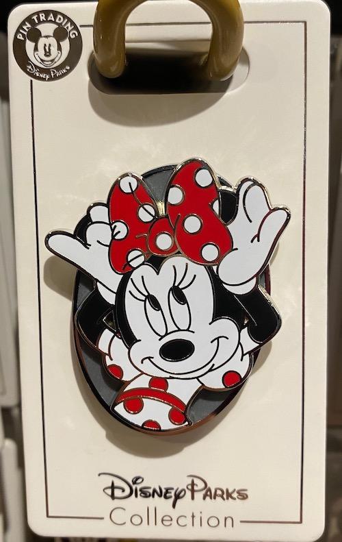 Minnie Mouse Polka Dot Bow Disney Pin