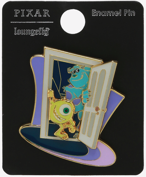 Monsters, Inc. Mike & Sulley Layered BoxLunch Disney Pin