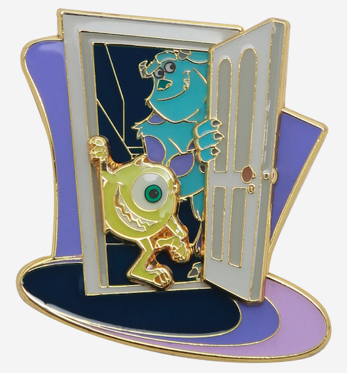 Monsters, Inc. Mike & Sulley Layered Loungefly Disney Pin