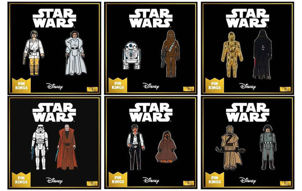 Numskull Launches New Star Wars Pin Badges