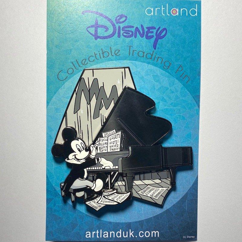 Pianist Mickey LE 100 ArtLand Disney Pin