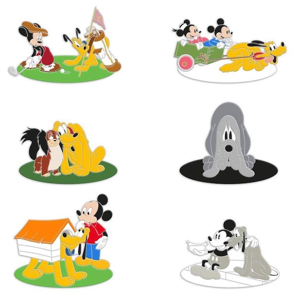 Pluto 90th Anniversary Mystery Pin Pack 2