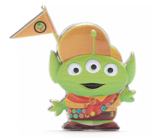 Russell Alien Toy Story Remix Pin