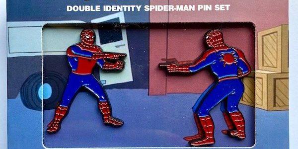 Disney Marvel Spiderman pin Authentic New