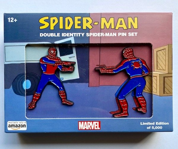 Spider-Man Double Identity Marvel Pin Set