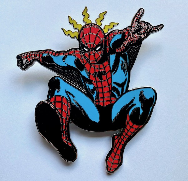 Spider-Man Limited Edition Loungefly Pin