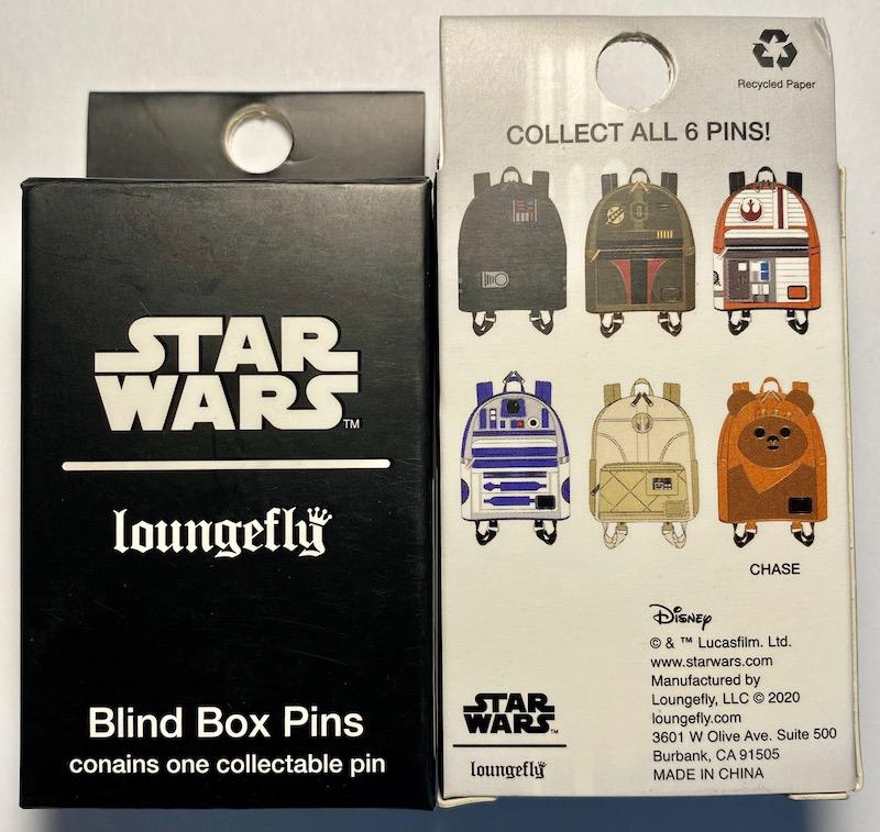 Star Wars Backpacks Blind Box Loungefly Pins