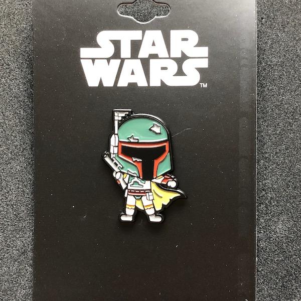 Star Wars Boba Fett Chibi Pin