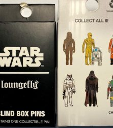 Star Wars Empire Strikes Back 40th Anniversary Blind Box Loungefly Pins