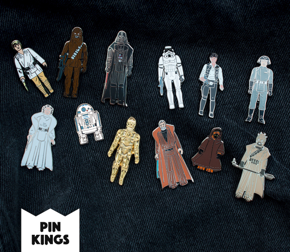 Star Wars Pin Sets - Numskull - Geek Store