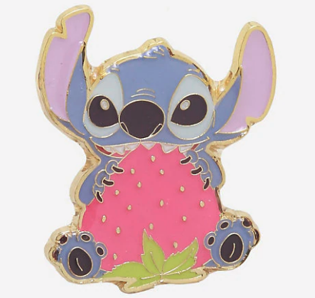 Stitch Strawberry Loungefly Disney Pin