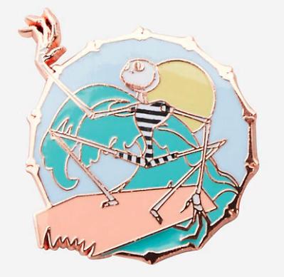 The Nightmare Before Christmas Summer Jack Beach Pin