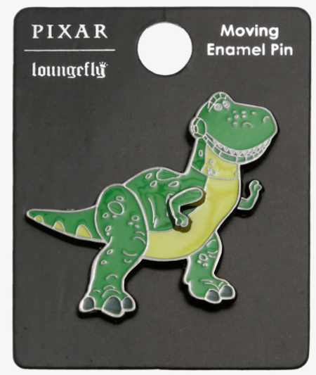 Toy Story Rex Moving Arms Disney BoxLunch Pin