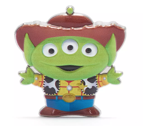 Woody Alien Toy Story Remix Pin