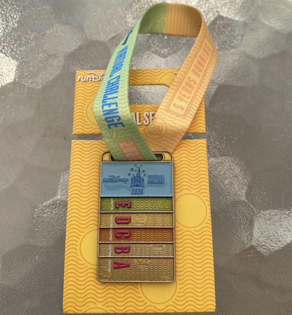 runDisney Virtual Challenge 2020 Pin