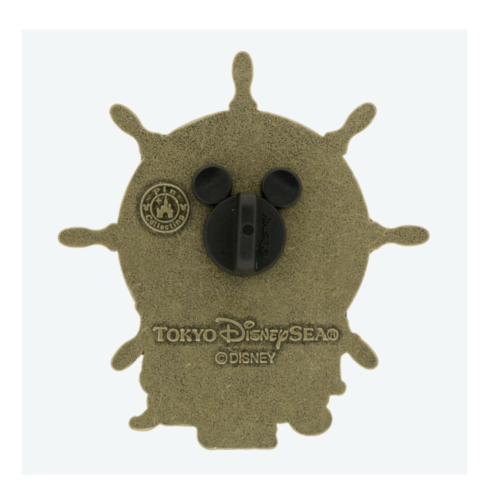 Back of Pirates Summer 2020 Tokyo DisneySea Pin