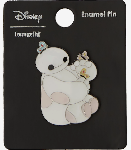 Baymax with Butterflies BoxLunch Disney Pin