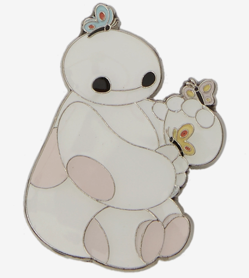 Baymax with Butterflies Loungefly Disney Pin