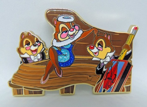 Chip n Dale Cut Out ArtLand Pin