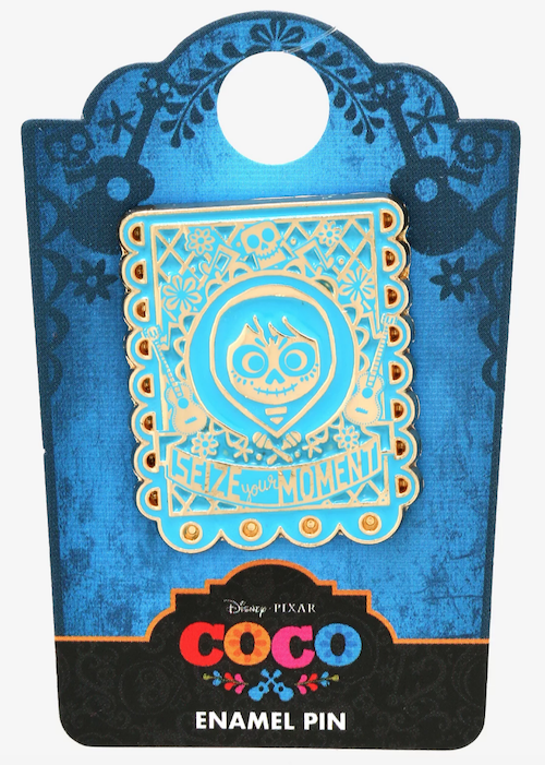 Coco Seize Your Moment Banner BoxLunch Pin