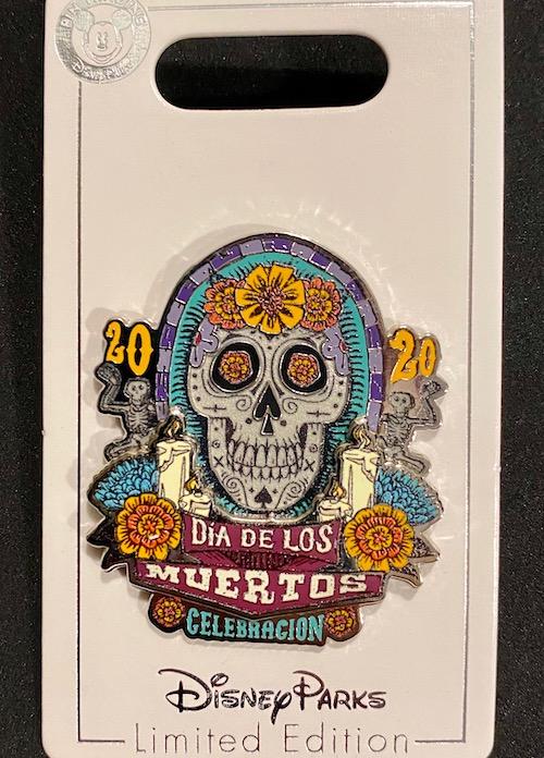 Dia de los Muertos 2020 Pin