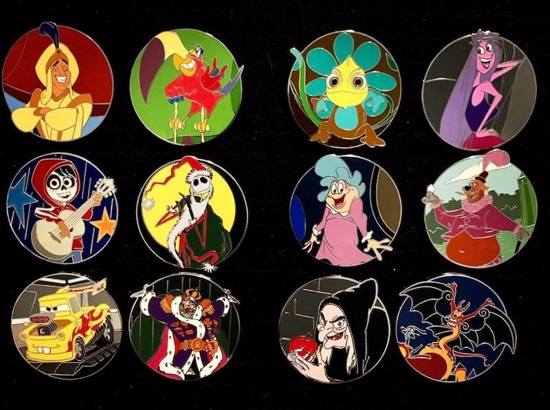 Disney Disguises Series 2 Pins