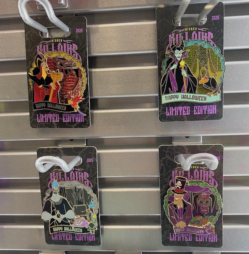 Disney Villains Lairs Halloween 2020 Pins