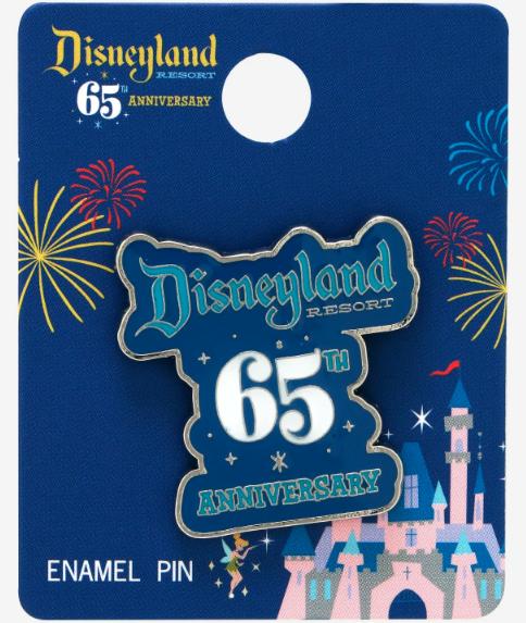 Disneyland 65th Anniversary BoxLunch Pin