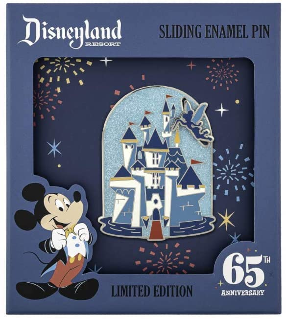 Disneyland 65th Anniversary Castle Funko Loungefly Pin