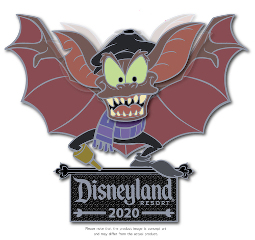 Disneyland Bat Day 2020 Pin Release