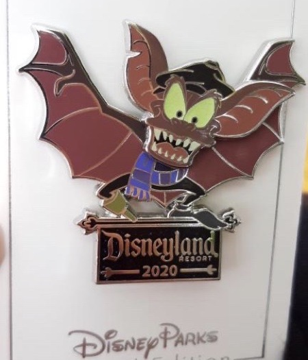 Disneyland Bat Day 2020 Pin