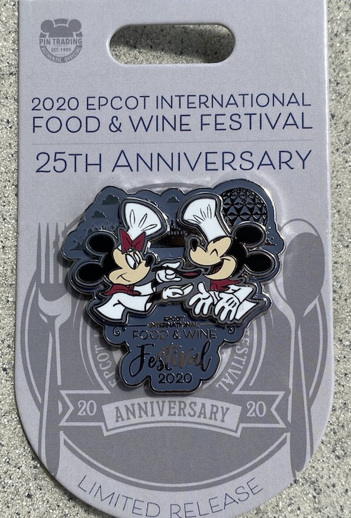 Epcot Food and Wine Festival 2020 Logo Pin