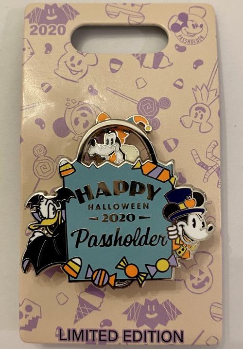 Halloween 2020 Passholder Disney Pin