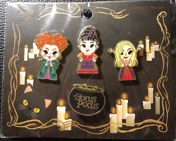 Hocus Pocus 2020 Loungefly Pin Set