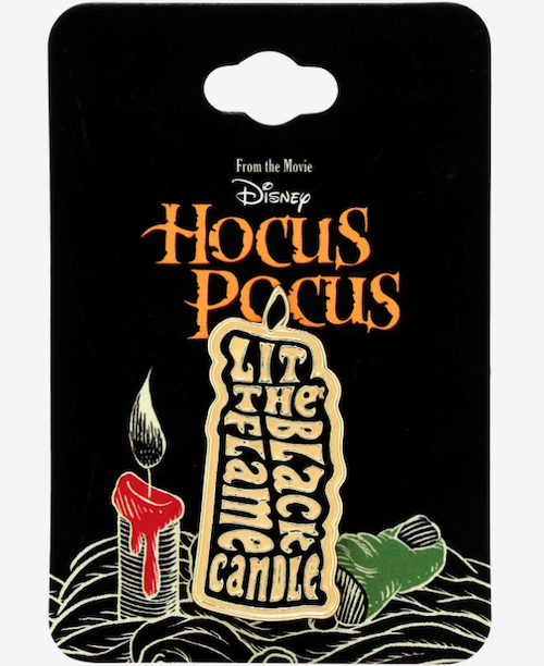 Hocus Pocus Black Flame Candle BoxLunch Disney Pin