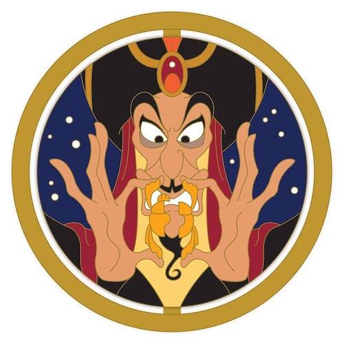 Jafar Enchanted Emblem Disney Pin