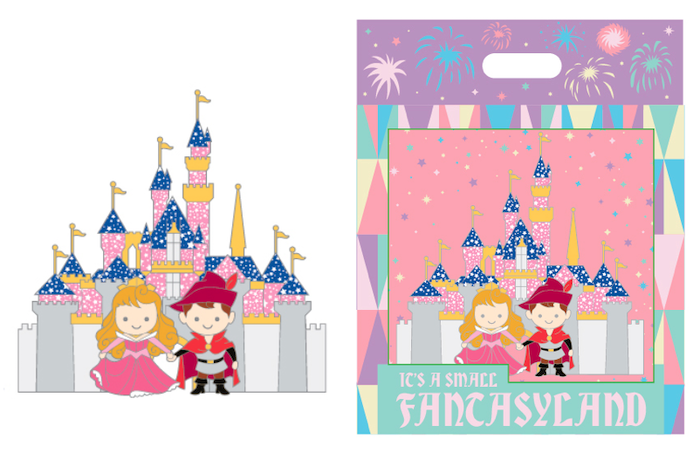 Jumbo Pin - Fantasyland Cuties Disneyland Collection