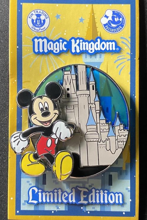 Mickey - Magic Kingdom WDW Passholder 2020 Pin