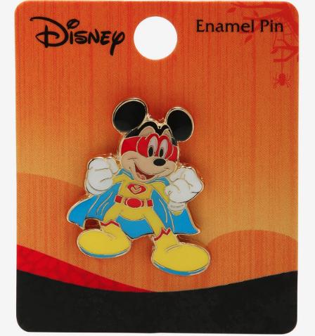 Mickey Mouse Hero BoxLunch Disney Pin