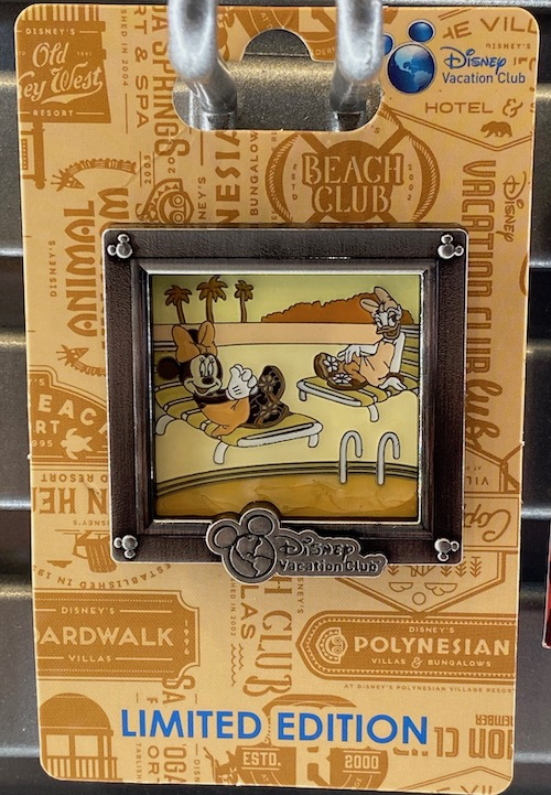 Minnie & Daisy Disney Vacation Club 2020 Pin