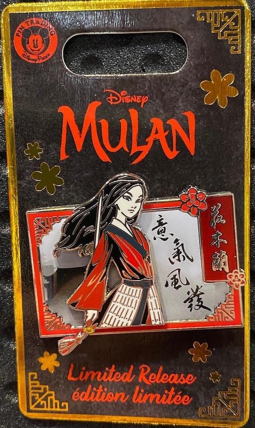 Mulan Live Action Disney Pin