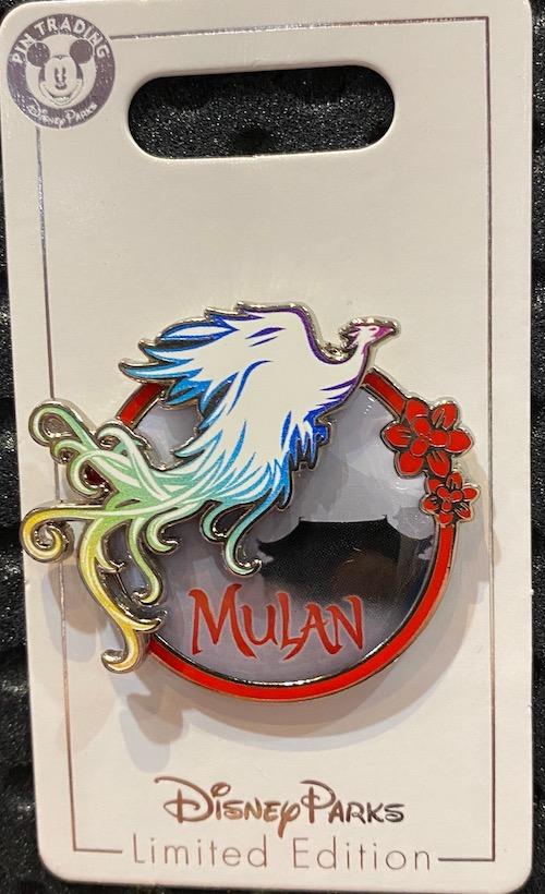 Mulan Live Action Phoenix Disney Pin