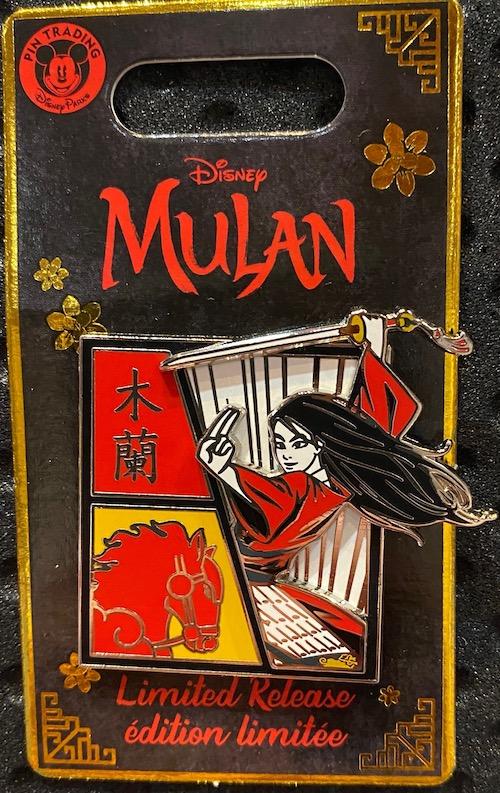 Mulan with Horse Pin – Live Action Film Pin