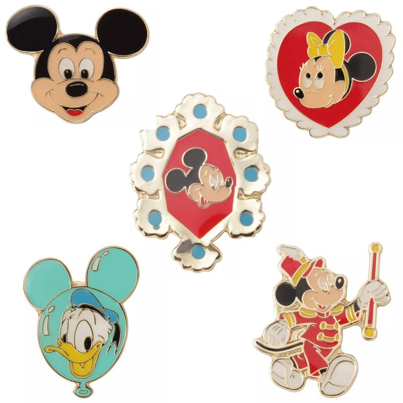 Nostalgic Pin Series at Disney Store Japan